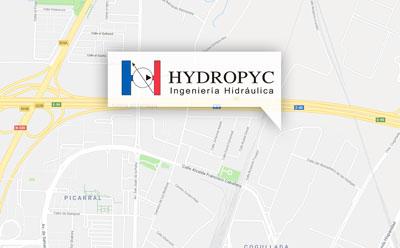 Mapa Hydropyc