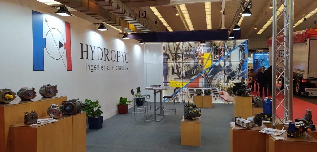 Stand de Hydropyc en FIMA 2020