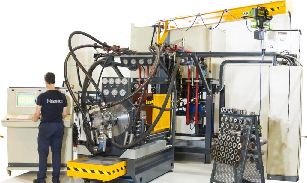 Mantenimiento hidráulico industrial